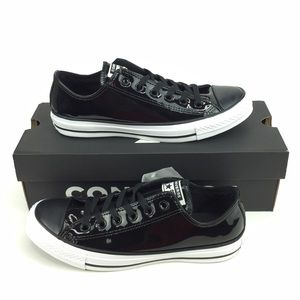 Converse Chuck Taylor Ox Patent Leather Black